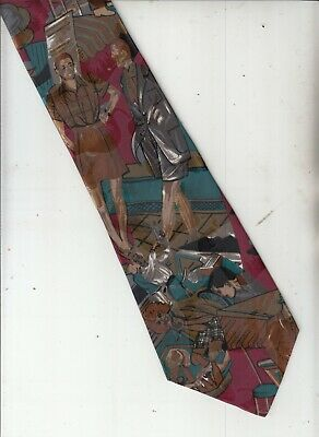 New 1930s Mens Fashion Ties Images-Casual 1930's Fashion-{Atwardson]-Authentic-100% Silk Tie-63-Men's Tie $38.61 AT vintagedancer.com