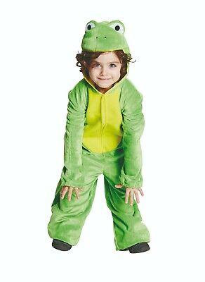 Rubies 12842 - Frosch, Kinder Kostüm Gr. 104 - 128, Tier Plüsch Overall ()