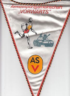 DDR GDR Wimpel Armeesportgemeinschaft Vorwärts ASV Kunstseide