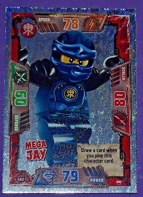 LEGO NINJAGO series 2 Trading Card Special MEGA JAY # 162