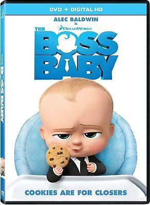 - The Boss Baby (DVD, DIGITAL 2017) NEW
