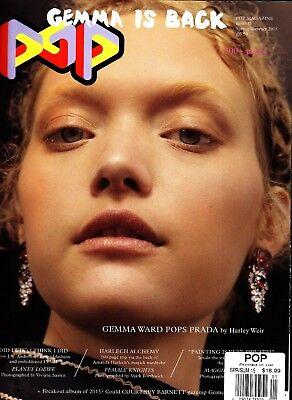 Pop Magazine Issue 32 Spring/Summer 2015 Gemma Ward Prada Amanda Harlech Fashion