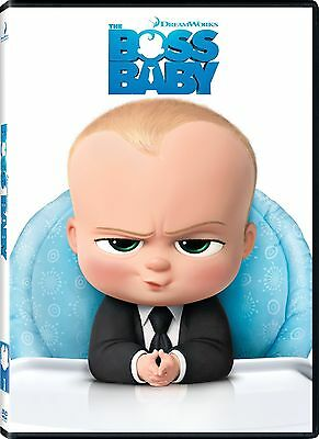The Boss Baby Dvd Factory Sealed New Comes With Outer Slipcover Free Shipping