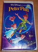 Walt Disney Peter Pan VHS
