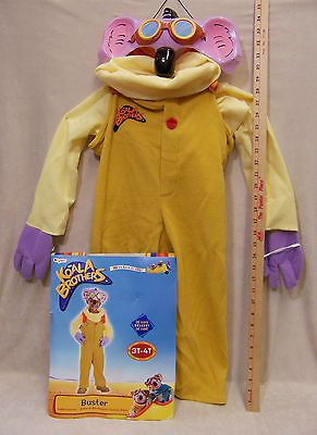 Halloween Costumes 3 Brothers (Child Koala Brothers Halloween Costume Buster Toddler Size 3T -)