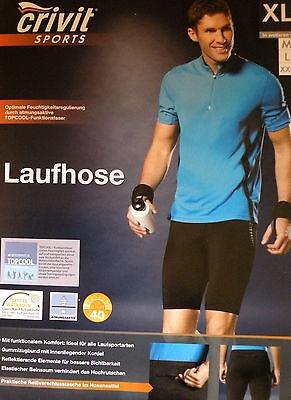 Herren Laufhose Schwarz Kurz Jogging Hose.M 48/50 L 52/54 XL 56/58 XXL 60/62
