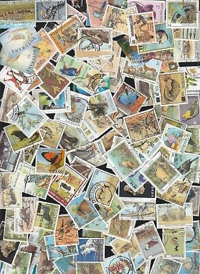 BOTSWANA 110 different lot (with recent up to 2014)