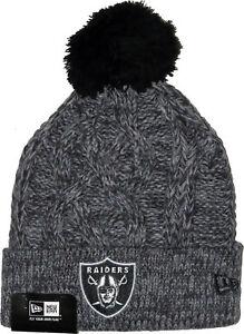 b7a4be9e7 sale oakland raiders color rush knit hat de324 5001b