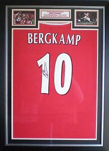Dennis-Bergkamp-Signed-Arsenal-Shirt-Photo-Display-Framed