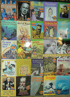 Leveled Readers Above Advanced 6th Grade Level 6 Complete Set 25 Books Houghton