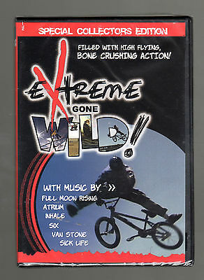 Extreme Gone Wild (dvd) Collectors Edition Full Moon Rising, Atrium, Inhale