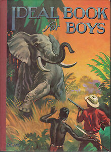 c.1951 Vintage Ideal book for boys annual
