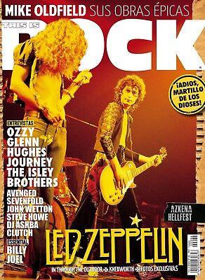 This Is Rock Revista Pack 5 Magazine Led Zeppelin + 1 Special Issue w/Poster , usado segunda mano  Irun