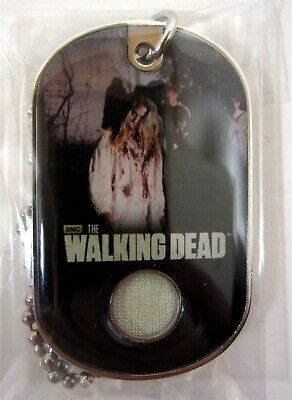 Bullsitoy The Walking Dead #C5 Walker COSTUME DOG TAG! Season 2 Update SEALED B