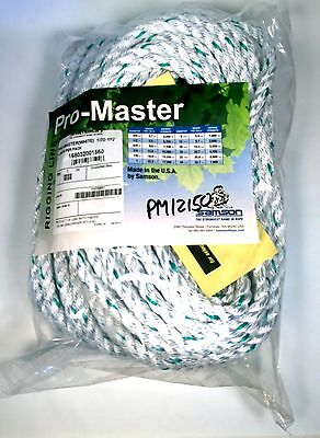 Pm12150 Samson Arborist Rigging Line Pro-master Rope 12 150 3 Strand