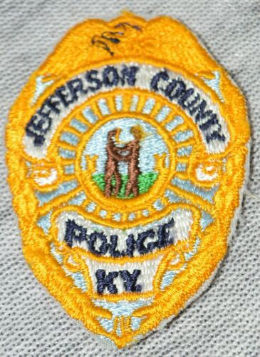 Jefferson County Police Kentucky KY Cap/Hat Uniform Patch Costume Cosplay Law
