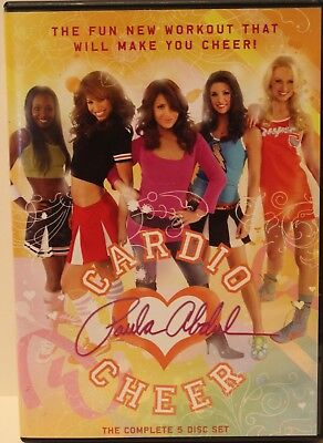 Cardio Cheer 5 disc set, learn cheerleading for teens girls workout fitness