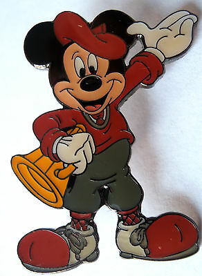 Disney Pin 752: Director Mickey Megaphone Black Metal Back HTF Pre-2000 Retired (Directors Megaphone)