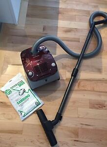 Samsung smooth surface vacuum (with carpet attachment)