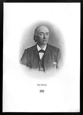 Karl Frenzel Der Berliner Schriftsteller und Theaterkritiker Kunstdruck v.1906