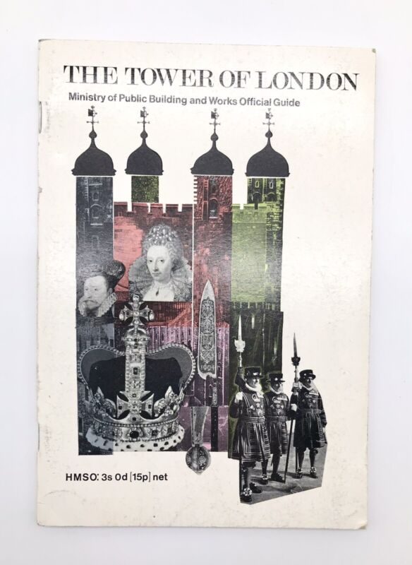 The Tower of London 1967 Official Guide England Souvenir