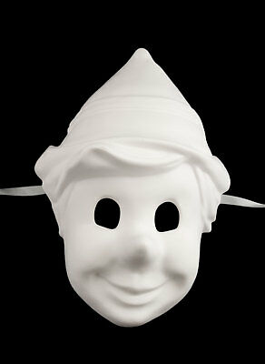 Mask from Venice in Paint Pinocchio Resin in Carnival Venetian 391