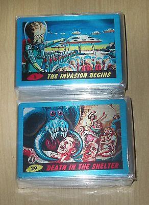 2015 Topps Mars Attacks Occupation Kickstarter 55-card METAL Heritage 1962 set