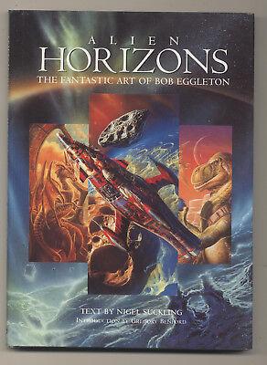 Alien Horizons HC The Fantastic Art Of Bob Eggleton PAPER TIGER - Alien Bob