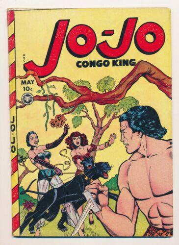 Jo-Jo Comics (1945) #27 VG/FN Congo King
