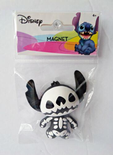 Disney Halloween - Lilo & Stitch - B & W Stitch Skeleton 3D Foam Magnet 85039