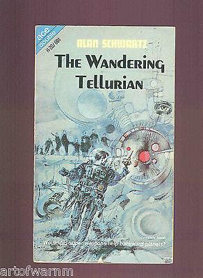 Wandering Tellurian  A Schwartz   Key To Irunium  K Bulmer  Sb Ace Dbl  H 20