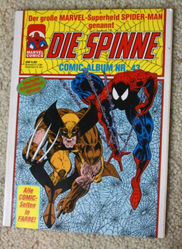 German comic book Spiderman Spider-Man Die Spinne vintage 1991 Nr. 43