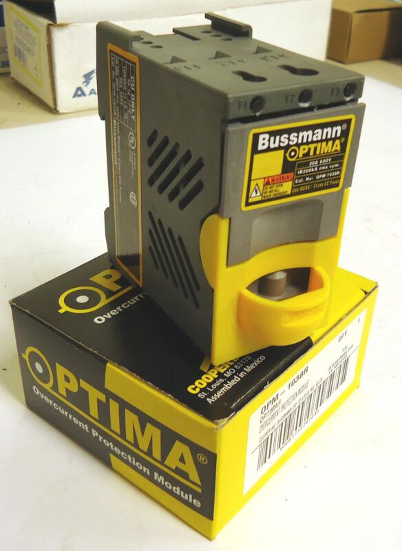 Bussmann OPM-1038R Optima Overcurrent Protection Module 30A 600V