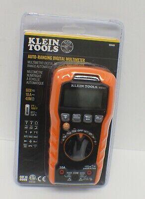 Klein Tools Mm400 600v Digital Multimeter - New - Sealed
