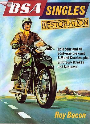 BSA Singles Restoration  By Roy Bacon