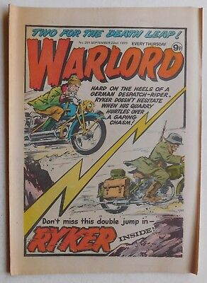 WARLORD Comic #261 - 22nd September 1979