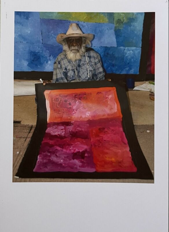 Kudditji Kngwarreye My Country Professionally framed Ready To Hang 60 X 90 cm