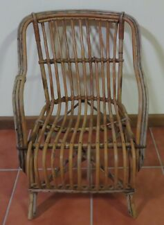 VINTAGE CHILD'S CANE CHAIR