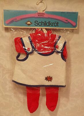 ♥♥  Schildkröt - Puppenkleidung / Set- Gr. 10 ?? unbenutzt ca 21 cm lang ♥♥
