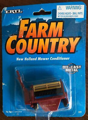 New Holland 489 Mower Conditioner Ertl 164th Scale Hay Mower