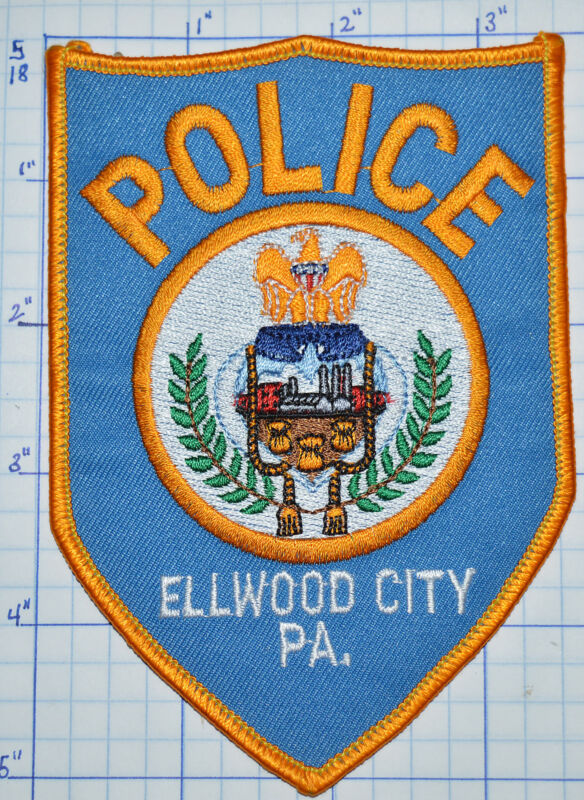 PENNSYLVANIA, ELMWOOD CITY POLICE DEPT PATCH