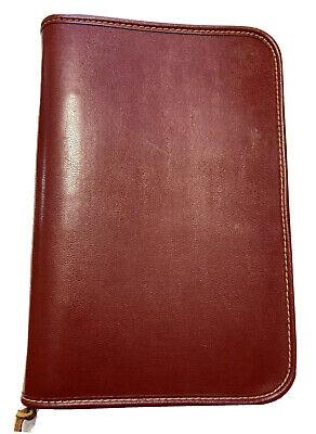 Stebco Tufide Zipper Quality Notebook Portfolio Folio 3 Ring Organizer