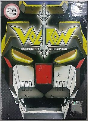 Dvd Anime Voltron Defender Of The Universe Complete Tv Series Vol 1 72 English