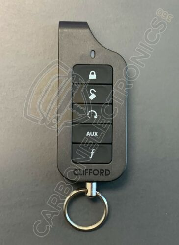 CLIFFORD 7654X Remote Control Transmitter BLACK