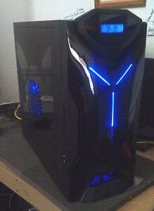 NZXT Custom Gaming PC Computer Desktop Quad Core 8GB Nvidia Graphics 1TB DVDRW