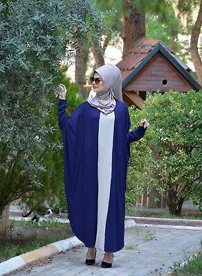 Ferace- Hijab-Abaya-Tesettür -Ohne Innenfutter H-8341
