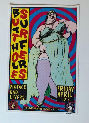 Frank Kozik Butthole Surfers Original Concert Poster