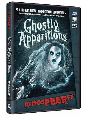 Ghostly Apparitions DVD Halloween Virtual Window Projection Prop by AtmosFear FX - Halloween Ghost Projection Dvd