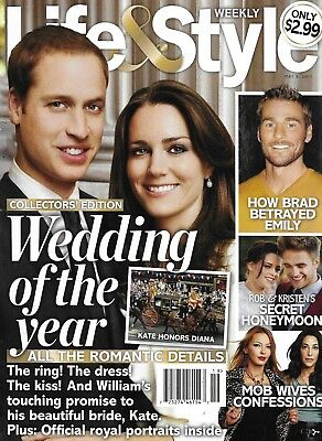 Kate Middleton Life And Style Magazine Prince William The Bachelor Mob Wives (Prince William Style)