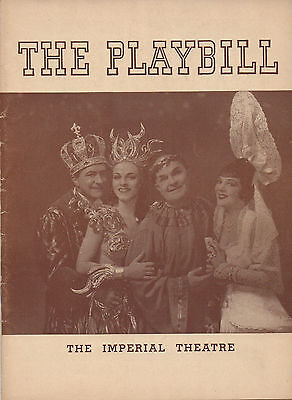 1941 Playbill Louisiana Purchase William Gaxton Vera Zorina Victor Moore